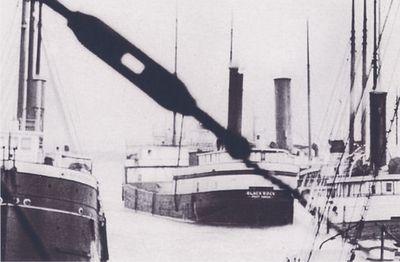 BLACK ROCK (1897, Steambarge)
