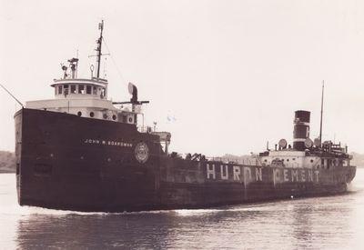 JOHN W. BOARDMAN (1923, Bulk Freighter)