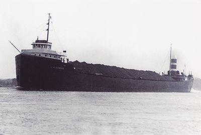 L.M. BOWERS (1920, Bulk Freighter)