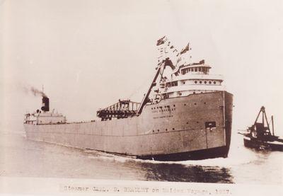 CARL D. BRADLEY (1927, Bulk Freighter)