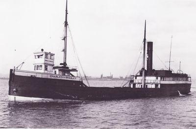 CHARLES H. BRADLEY (1890, Steambarge)