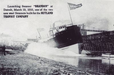 BRANDON (1910, Package Freighter)