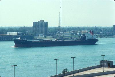 CANADIAN PIONEER (1980, Bulk Freighter)