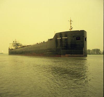 CANADIAN PROGRESS (1968, Bulk Freighter)