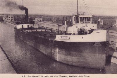 CARTIERDOC (1928, Bulk Freighter)