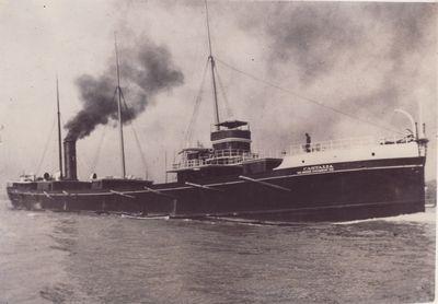 CASTALIA (1890, Bulk Freighter)