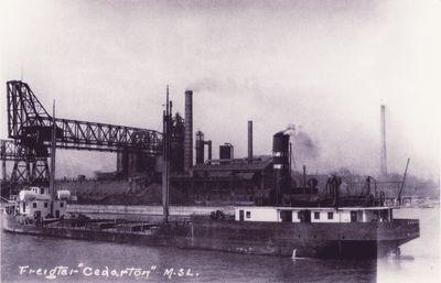 CEDARTON (1924, Bulk Freighter)