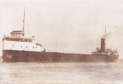 CHAMPLAIN (1910, Bulk Freighter)