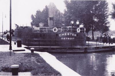 CHESTER (1931, Bulk Freighter)