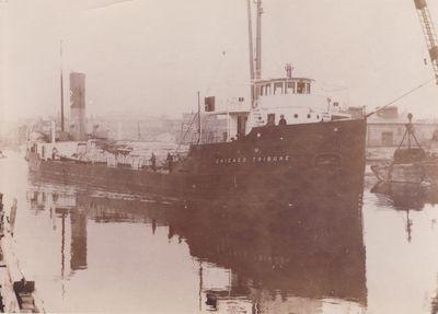 CHICAGO TRIBUNE (1922, Bulk Freighter)