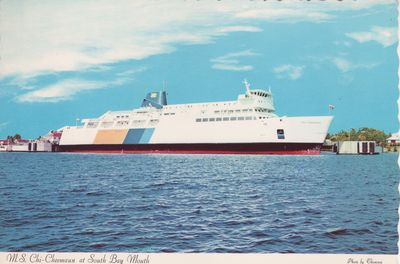 CHI-CHEEMAUN (1974, Ferry)