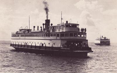 CHIPPEWA (1900, Car Ferry (Rail Ferry))
