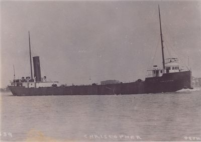CHRISTOPHER (1901, Bulk Freighter)