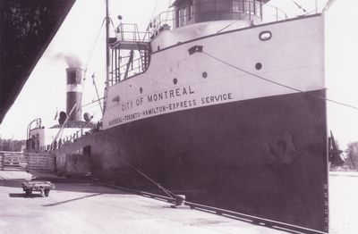 CITY OF MONTREAL (1927, Package Freighter)