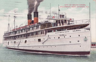 CITY OF SOUTH HAVEN (1903, Passenger Steamer)