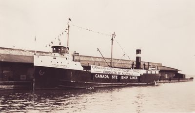 CITY OF TORONTO (1926, Package Freighter)
