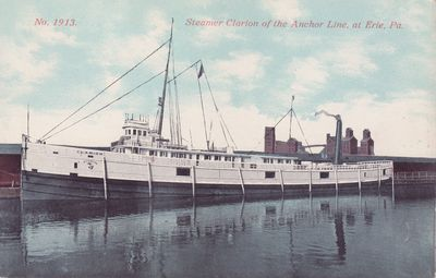 CLARION (1881, Package Freighter)