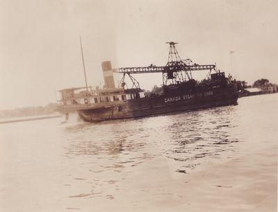 COLLIER NO. 1 (1924, Bulk Freighter)