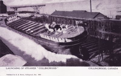 COLLINGWOOD (1907, Package Freighter)