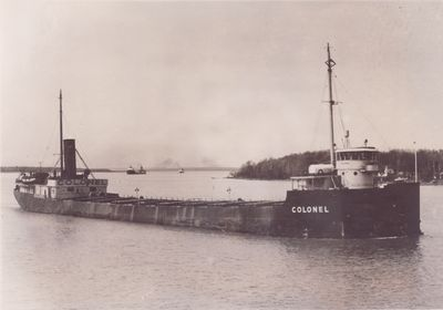 COLONEL (1901, Bulk Freighter)