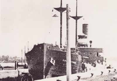 CORALSTONE (1924, Package Freighter)
