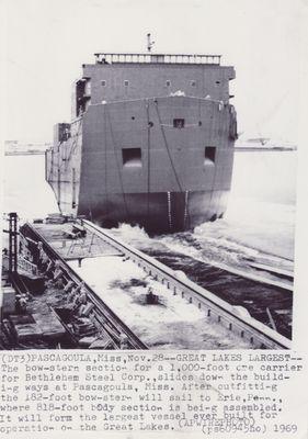 STEWART J. CORT (1972, Bulk Freighter)