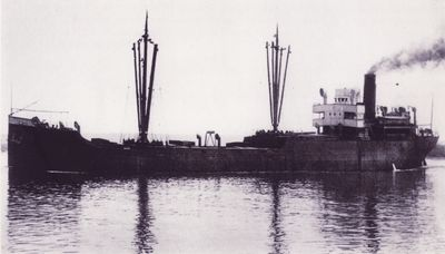 COTTONWOOD (1919, Bulk Freighter)