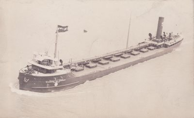 WILLIAM P. COWAN (1918, Tank Vessel)