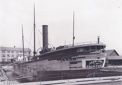 JOHN CRAIG (1888, Bulk Freighter)