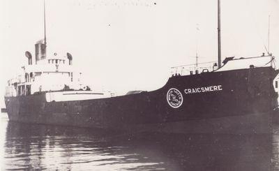 CRAIGSMERE (1919, Bulk Freighter)