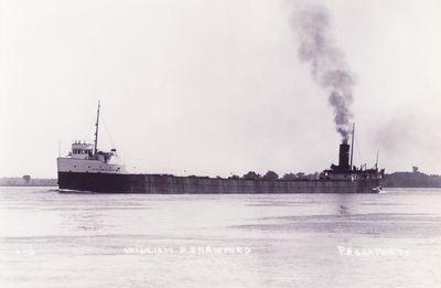 WILLIAM D. CRAWFORD (1914, Bulk Freighter)