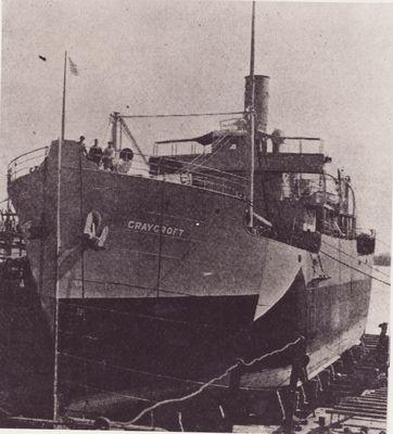 CRAYCROFT (1918, Package Freighter)