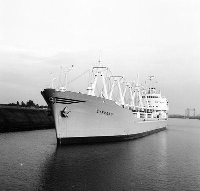CYPRESS (1963, Ocean Freighter)