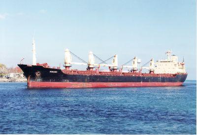 RITVA DAN (1961, Ocean Freighter)