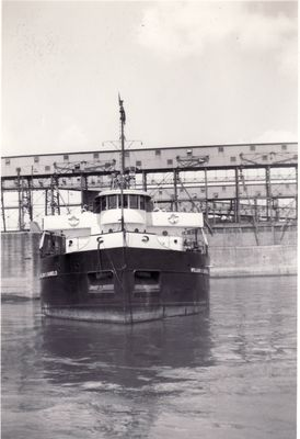 WILLIAM H. DANIELS (1923, Bulk Freighter)