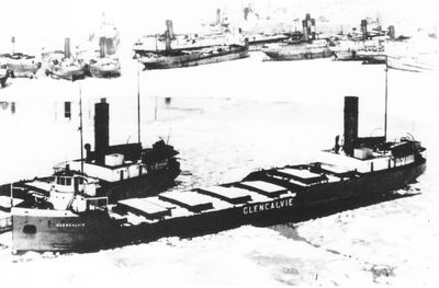 GLENCALVIE (1926, Bulk Freighter)
