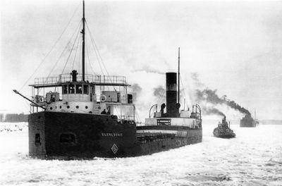 GLENLOCHIE (1923, Bulk Freighter)