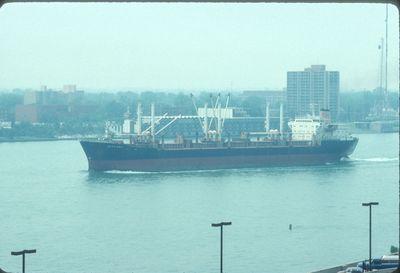 GLYFADA (1960, Ocean Freighter)