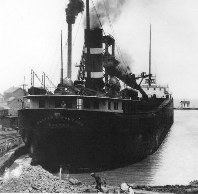 HARVEY D. GOULDER (1906, Bulk Freighter)