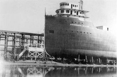 GOVERNOR MILLER (1938, Bulk Freighter)