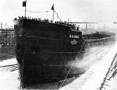 E.G. GRACE (1943, Bulk Freighter)