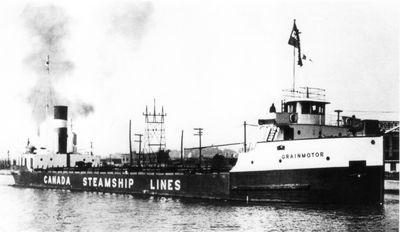 GRAINMOTOR (1929, Bulk Freighter)