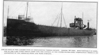 JAMES J. HILL (1900, Bulk Freighter)