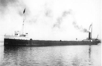 EDWIN F. HOLMES (1904, Bulk Freighter)