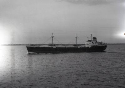 HOLMSIDE (1959, Ocean Freighter)