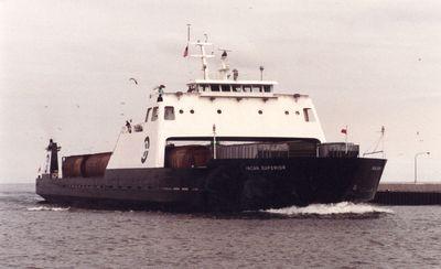 INCAN SUPERIOR (1974, Car Ferry (Rail Ferry))