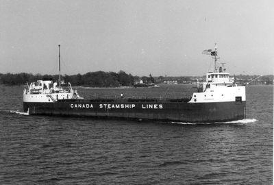IROQUOIS (1955, Bulk Freighter)