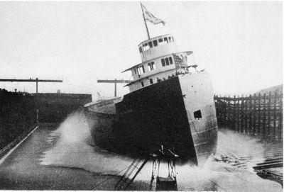 WILLIAM A. IRVIN (1938, Bulk Freighter)