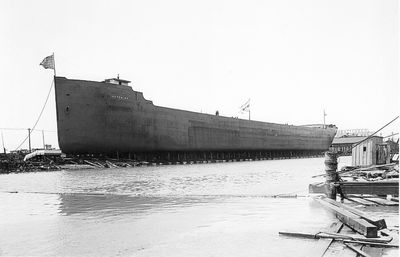 ISHPEMING (1906, Bulk Freighter)