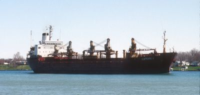 ISLAND MARINER (1974, Ocean Freighter)